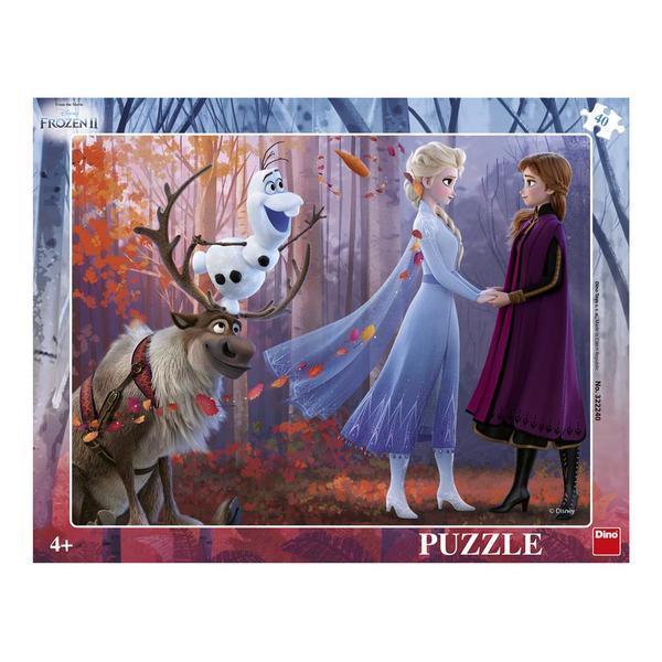 Dino Puzzle Frozen II radost 40 dílků