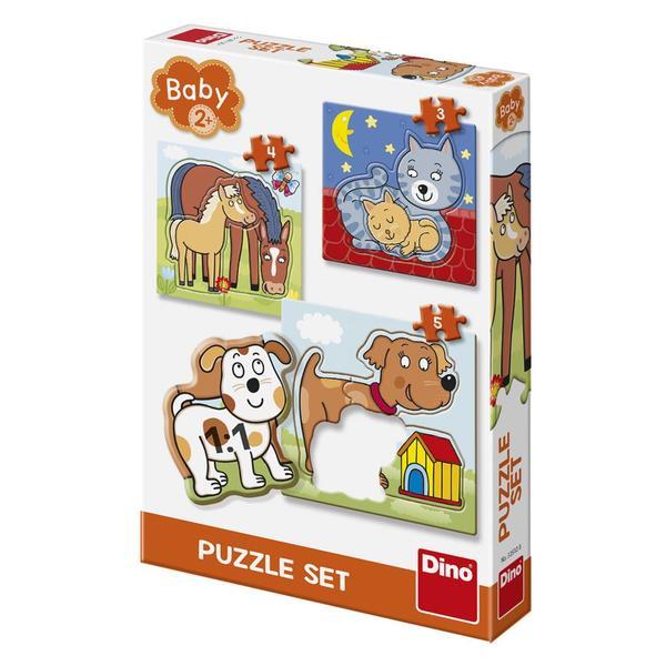 Dino Puzzle Zvířátka