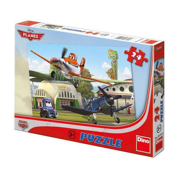 Papírové puzzle 24 dílků Letadla