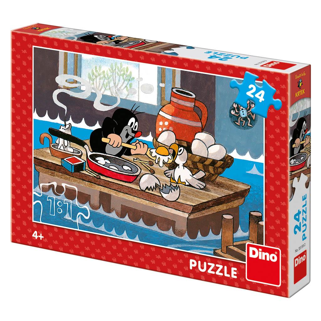 Dino Puzzle Krtek a orel 24 dílků
