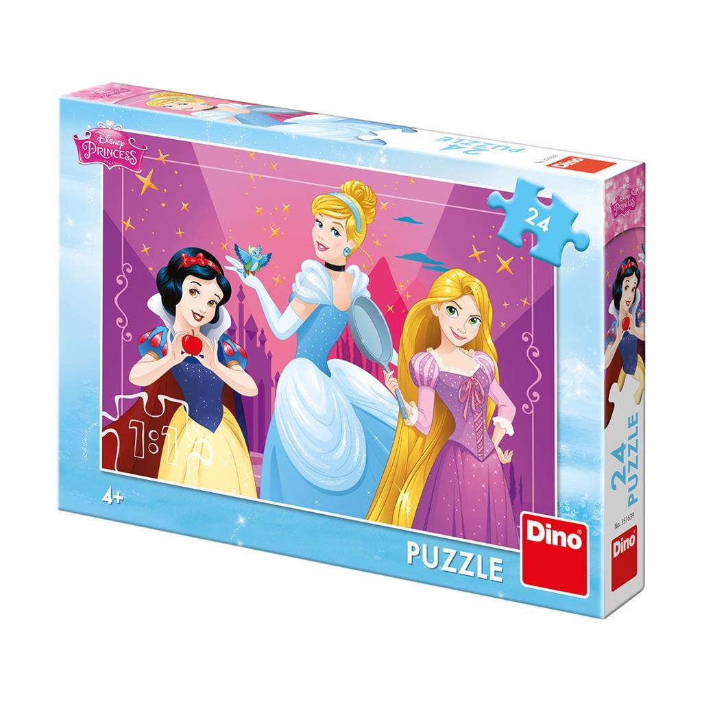 Dino Puzzle Odvážené princezny 24 dílků