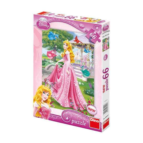 Papírové puzzle 66 dílků Šípková růženka