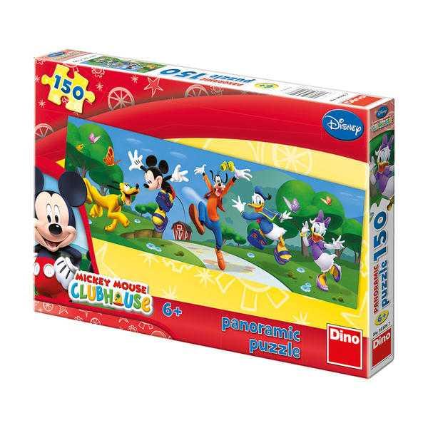 Papírové puzzle 150 dílků MICKEY hurá do parku