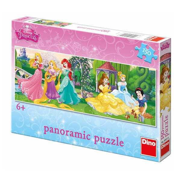 Papírové puzzle 150 dílků PRINCEZNY na promenádě