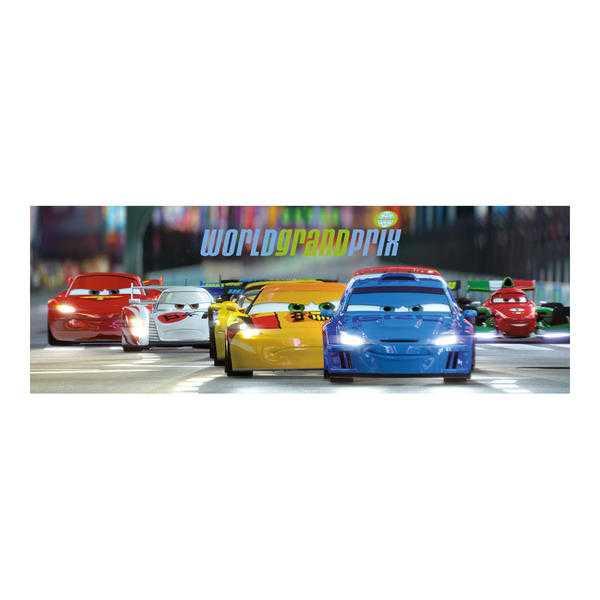 Papírové puzzle 150 dílků CARS na okruhu panoramic
