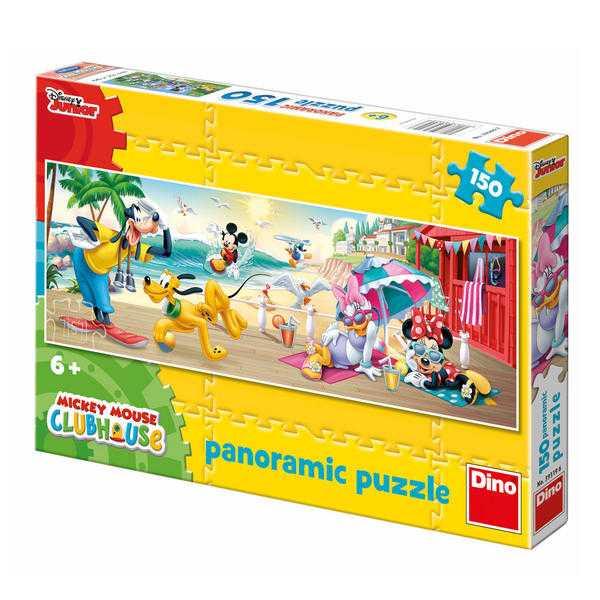 Papírové puzzle 150 dílků MICKEYHO letní radovánky