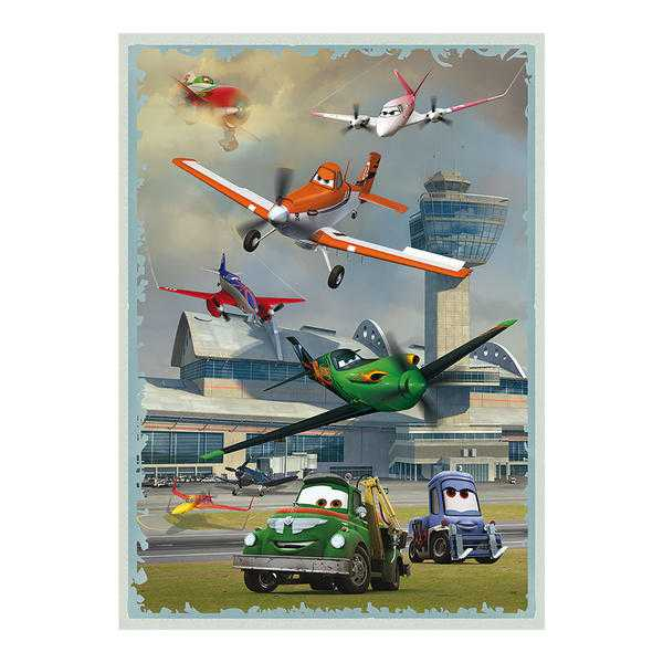 Papírové puzzle 180 XL dílků poster LETADLA