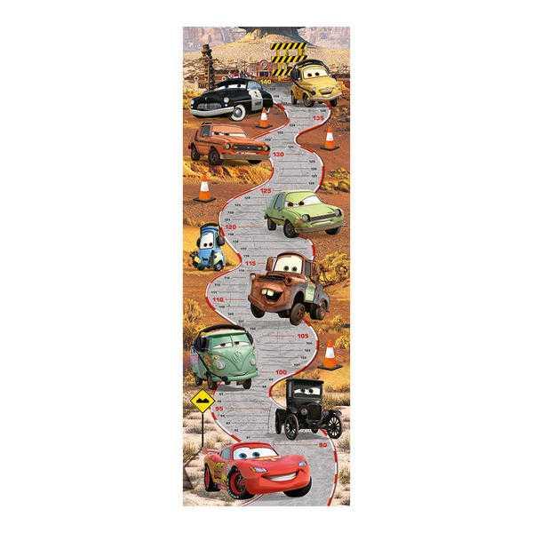 Papírové puzzle 150 dílků CARS dětský metr