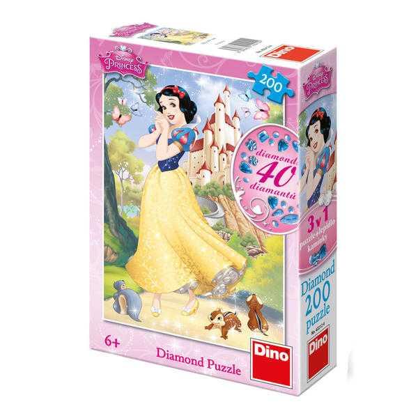 Papírové puzzle 200 dílků Sněhurka