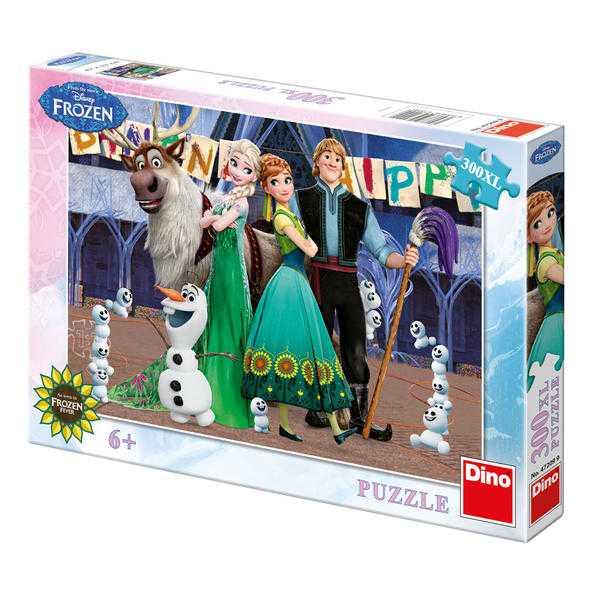 Papírové puzzle 300 dílů FROZEN narozeniny