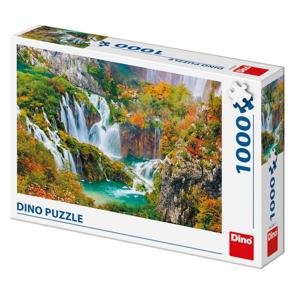 Dino Puzzle Plýtvická jezera 1000 dílků