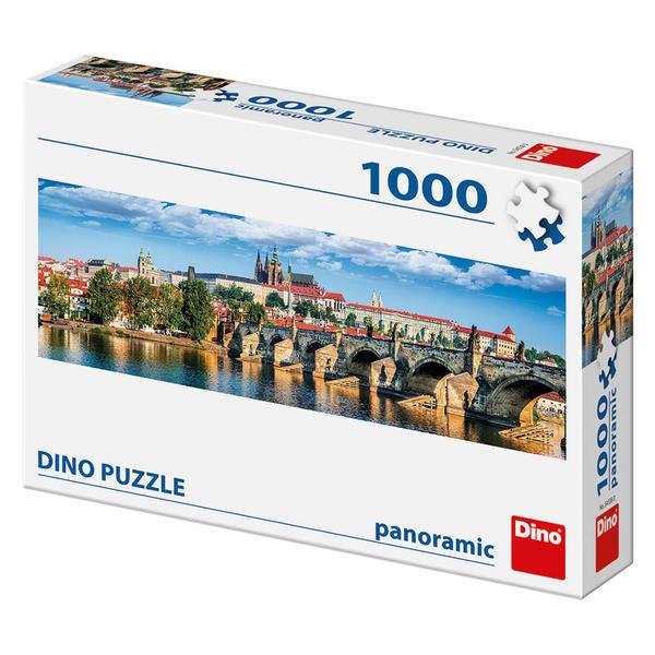 Dino Puzzle Panoramatické Hradčany 1000 dílků
