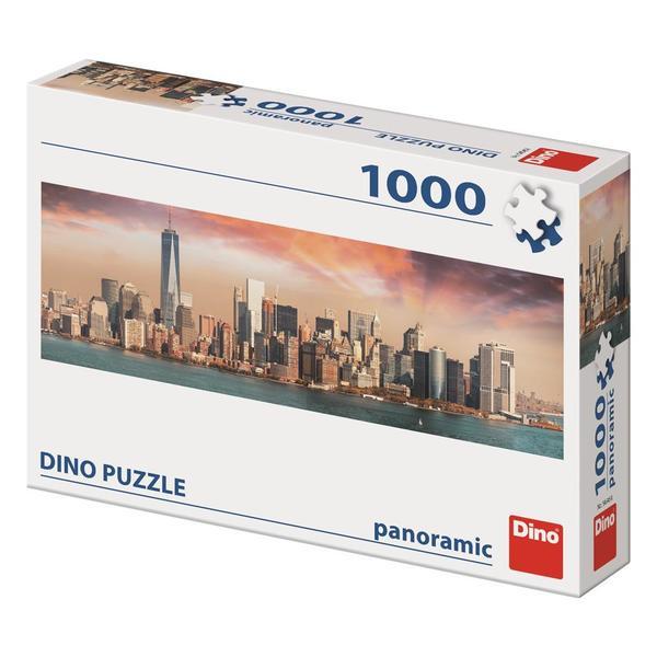 Dino Puzzle Manhattan za soumraku 1000 dílků
