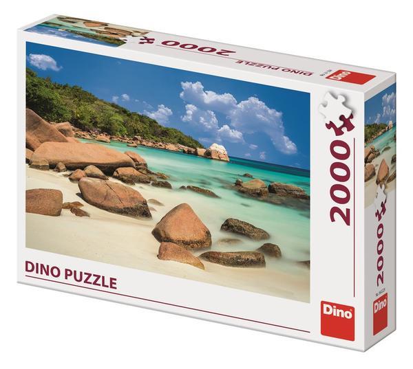 Dino Puzzle Pláž 2000 dílků