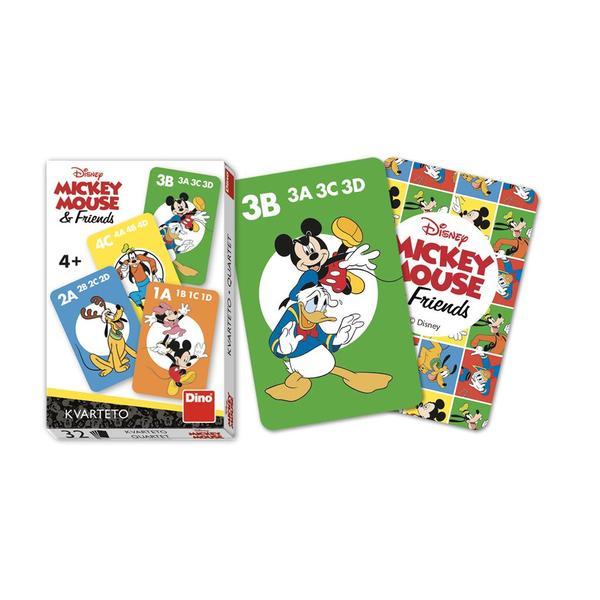 Dino Hrací karty Mickey a kamarádi