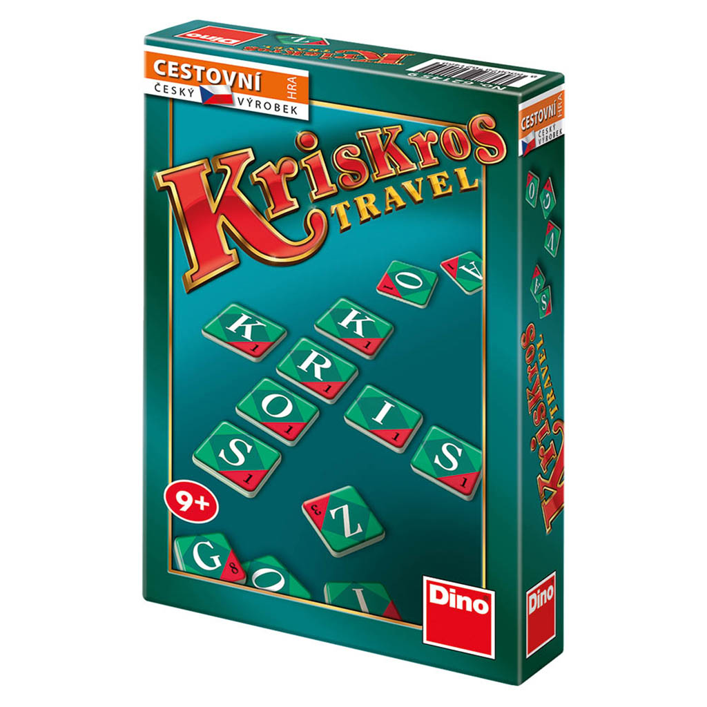 Dino Dětská cestovní hra Kris Kros Travel