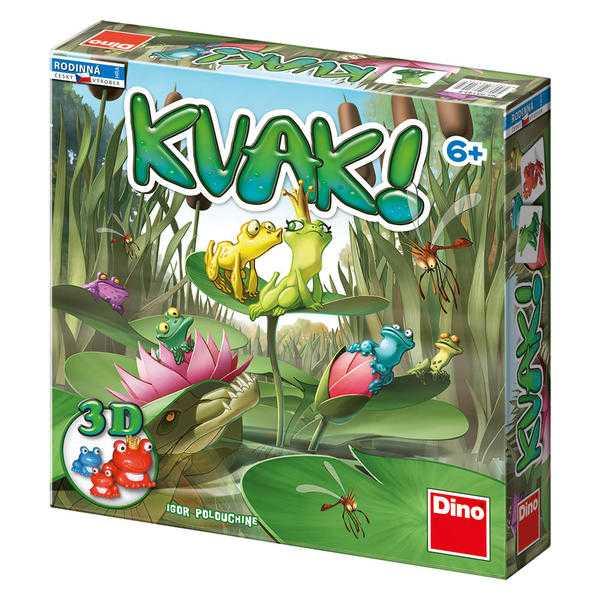 Dino Rodinná hra KVAK