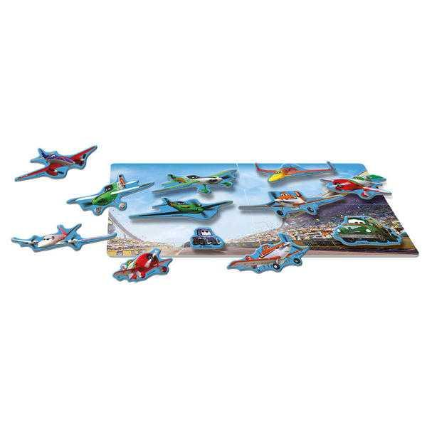 LETADLA magnetické puzzle