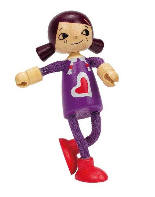 HAPE dřevěné hračky - dřevěná postavička dcera