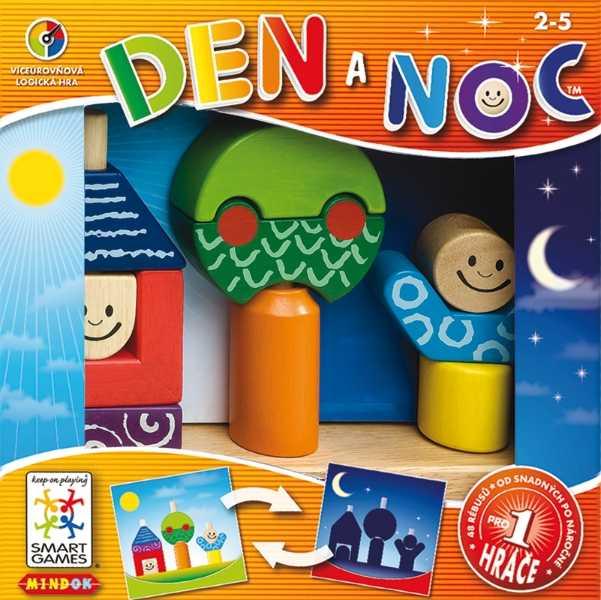 Dětské hlavolamové smart hry - Den a noc