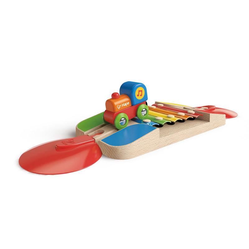 Hape Vláčkodráha koleje xylofon
