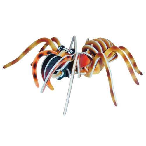 Dřevěné 3D puzzle dřevěná skládačka hmyz - Tarantule EC017