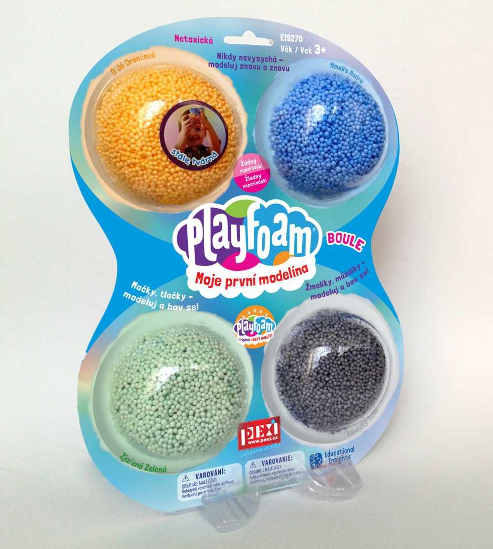 Pexi PlayFoam® Boule 4pack- B klučičí barvy