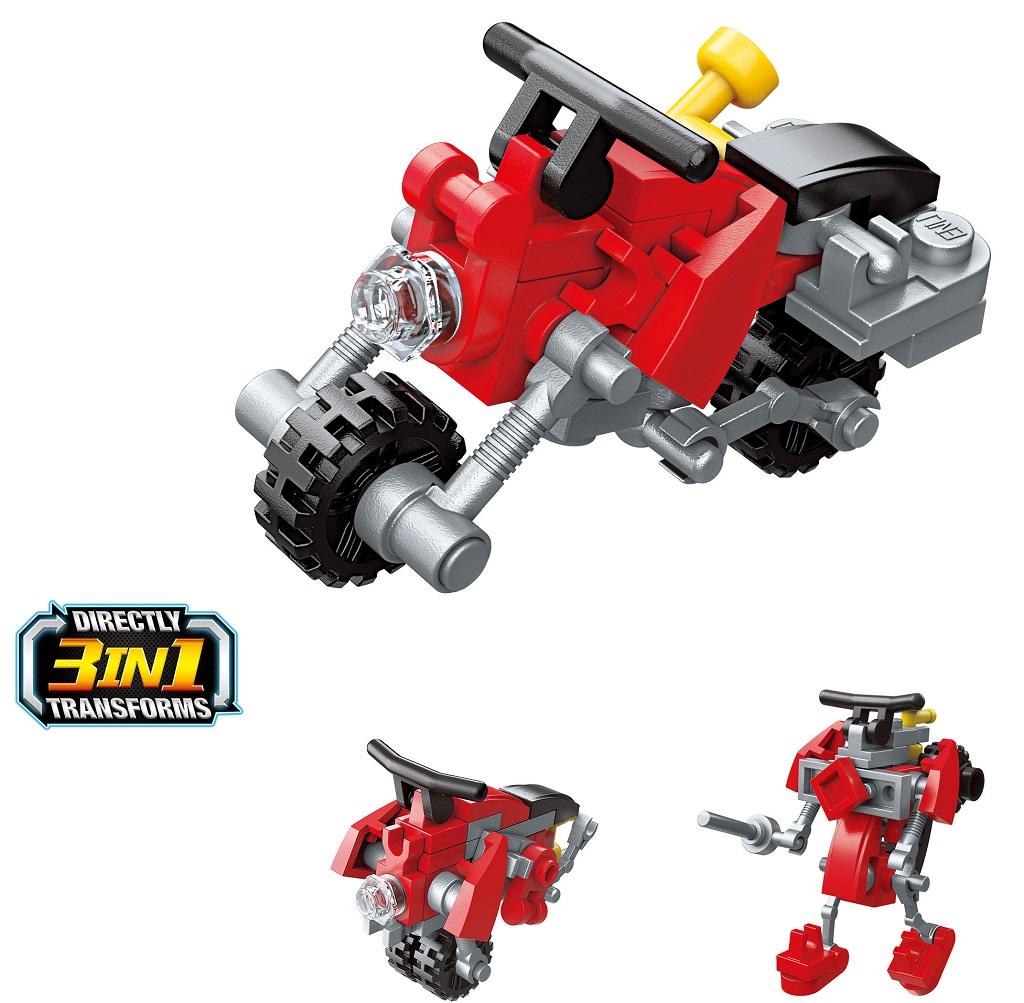 Qman Trans Collector 3v1 2104-2 Požární motorka 3v1