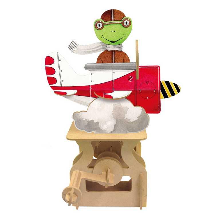 ARToy Stavebnice pohyblivého modelu okolo světa letadlo