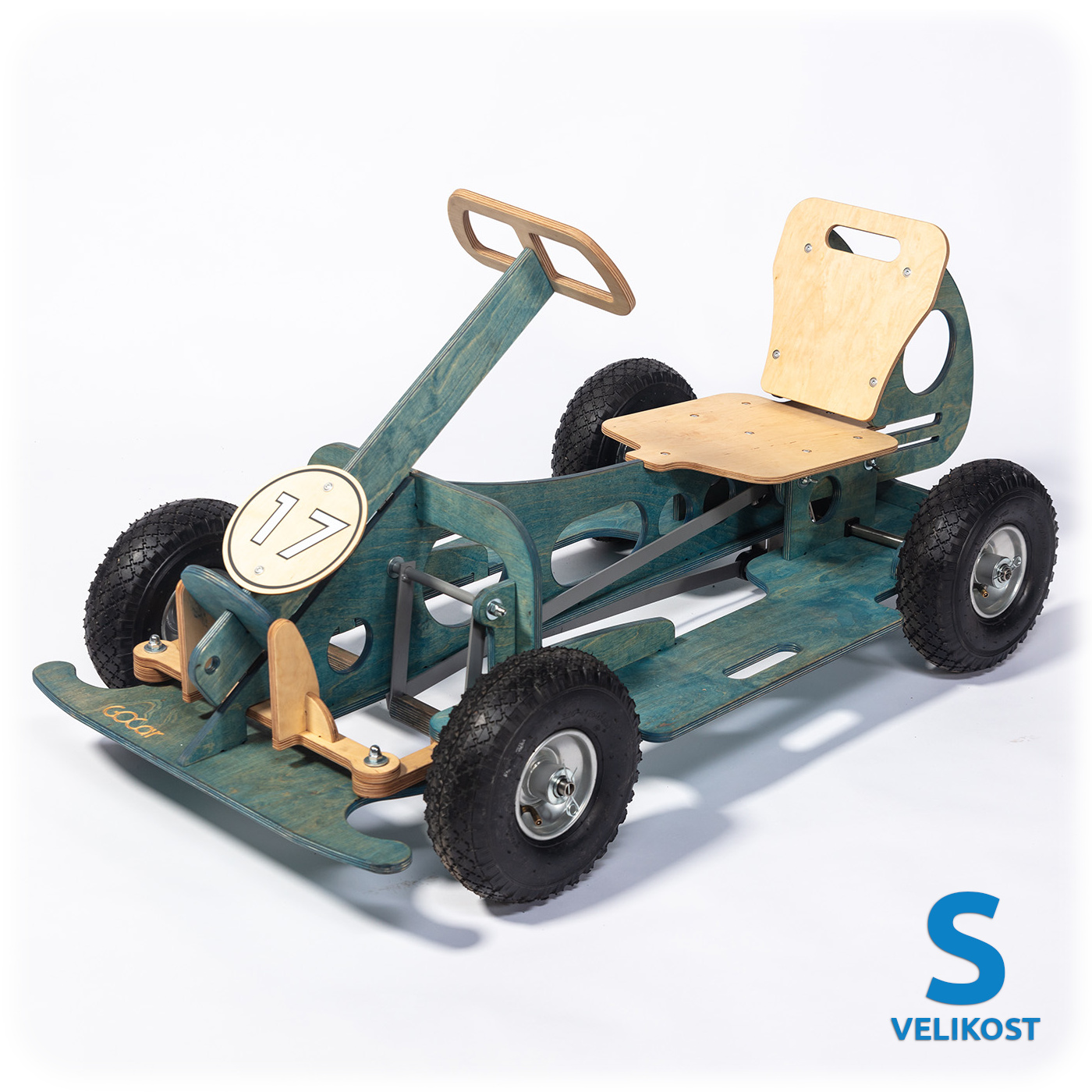 GOCar šlapací auto malé, modré