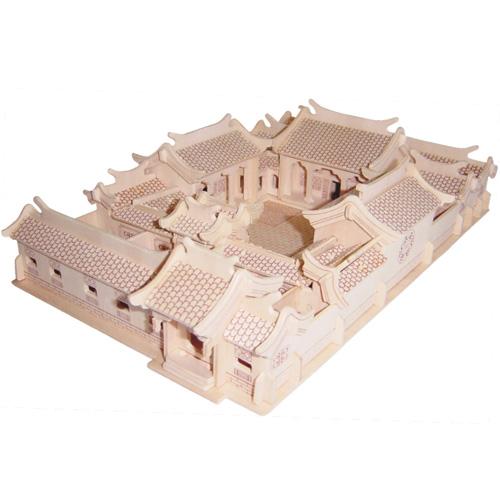 Woodcraft Dřevěné 3D puzzle císařský palác