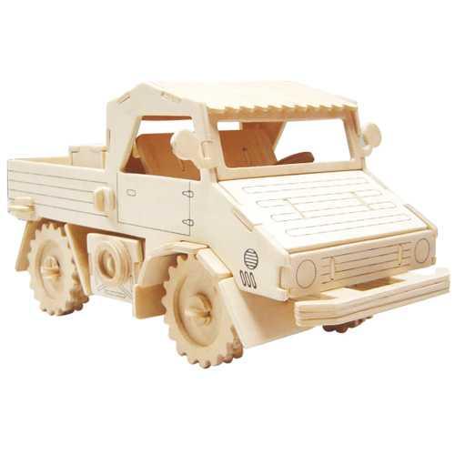 Woodcraft Dřevěné 3D puzzle nákladní automobil
