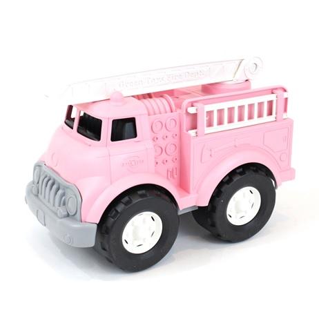 Green Toys Hasičské auto růžové