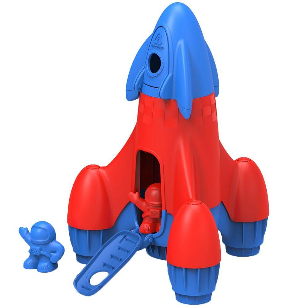 Green Toys Raketa modrá