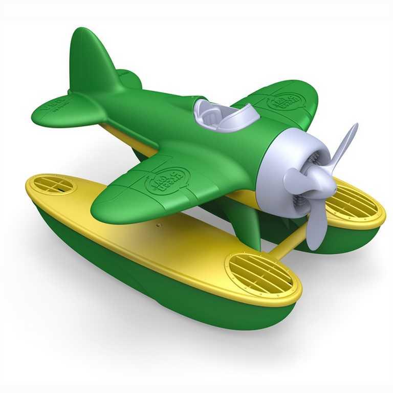 Green Toys - Hydroplán zelený