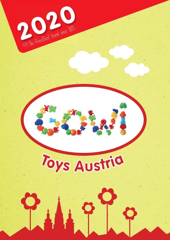 Gowi katalog hraček 2020 tištěný