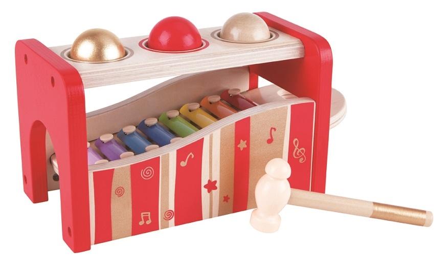 HAPE dřevěné hračky - dřevěný muzikální set limitovaná edice