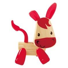 Hape Dřevěná zvířátka oslík