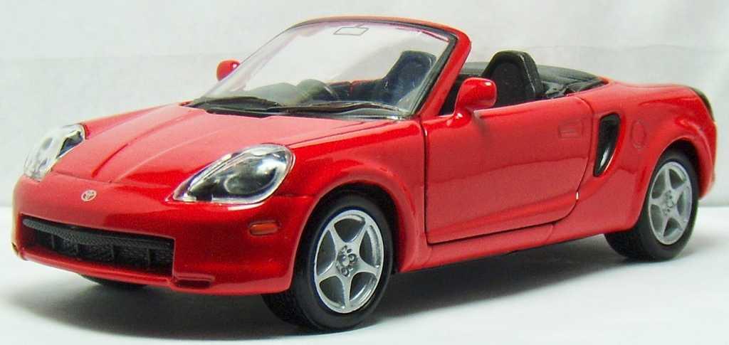 Welly - Toyota MR2 Spyder 1:34 červená