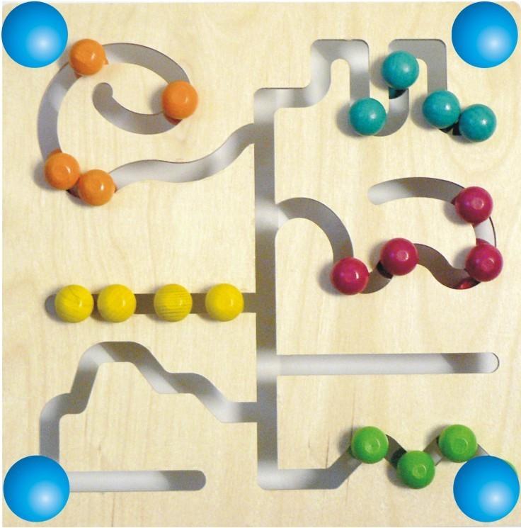 Hess Motorický labyrint barevný