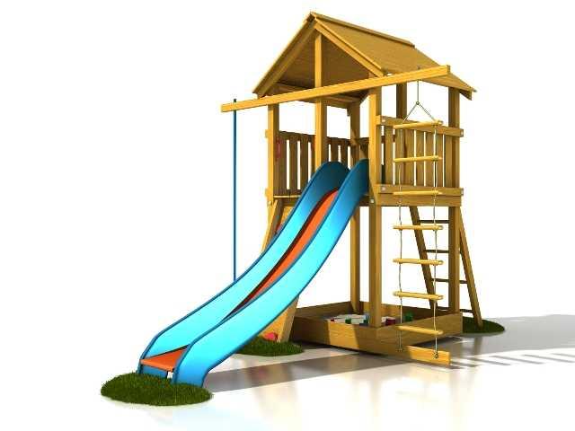 Dřevěné dětské hřiště - Stavebnice hřiště Honzík