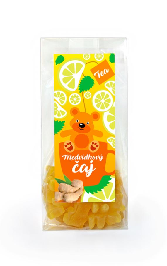 Čaj - Medvídkový čaj - Citrón se zázvorem