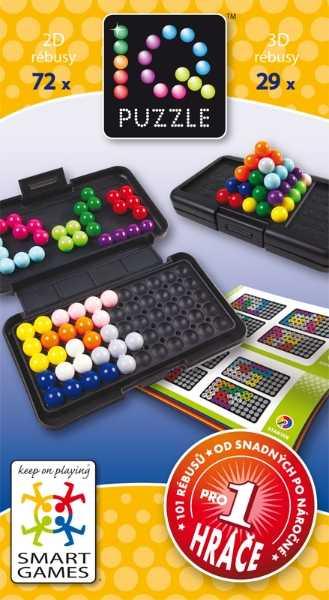 Dětské hlavolamové smart hry - IQ Puzzle