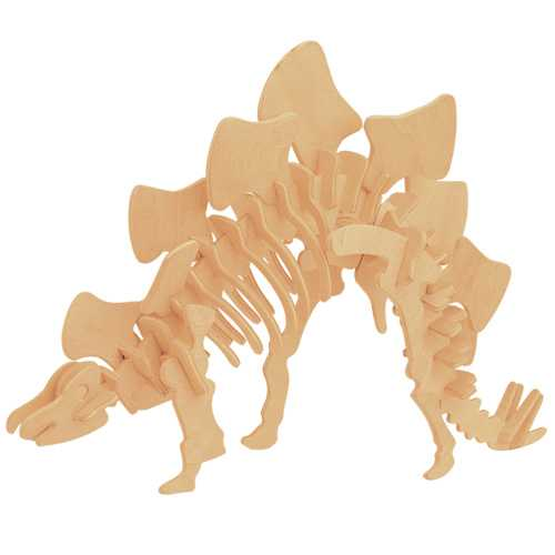 Woodcraft Dřevěné 3D puzzle Stegosaurus