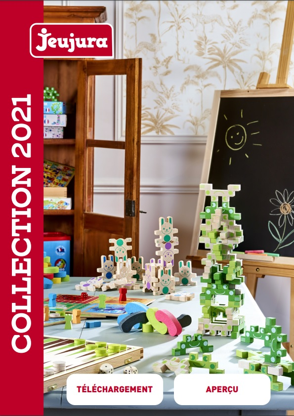 Jeujura katalog hraček 2021 tištěný