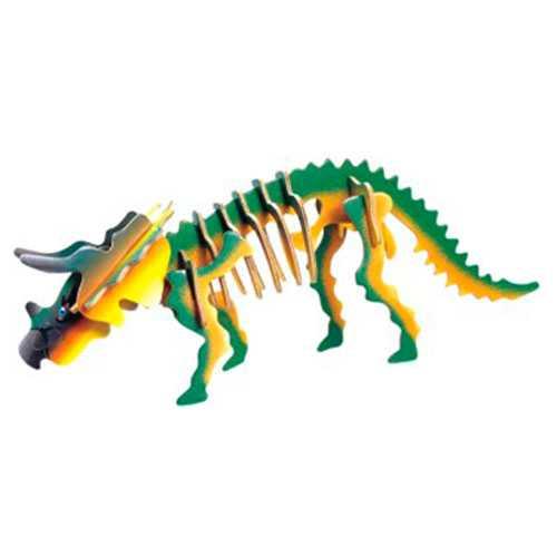 Woodcraft Dřevěné 3D puzzle Triceratops