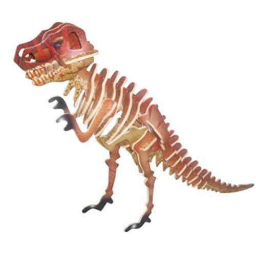 Woodcraft Dřevěné 3D puzzleTyranosaurus T REX