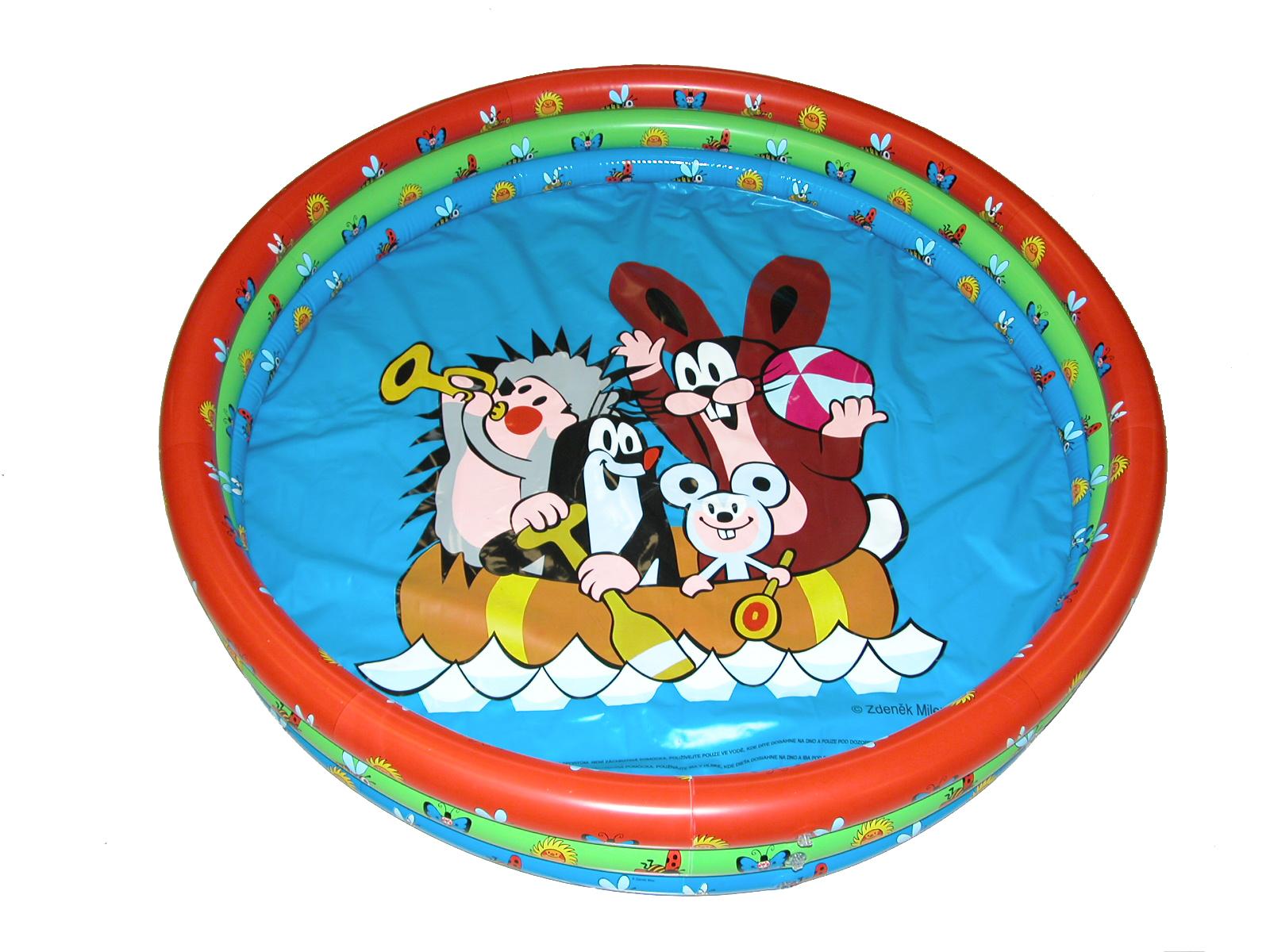 Bazén dětský Krtek 102x25 cm
