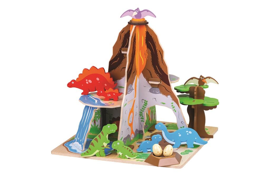Bigjigs Toys Dinopark ostrov dinosaurů