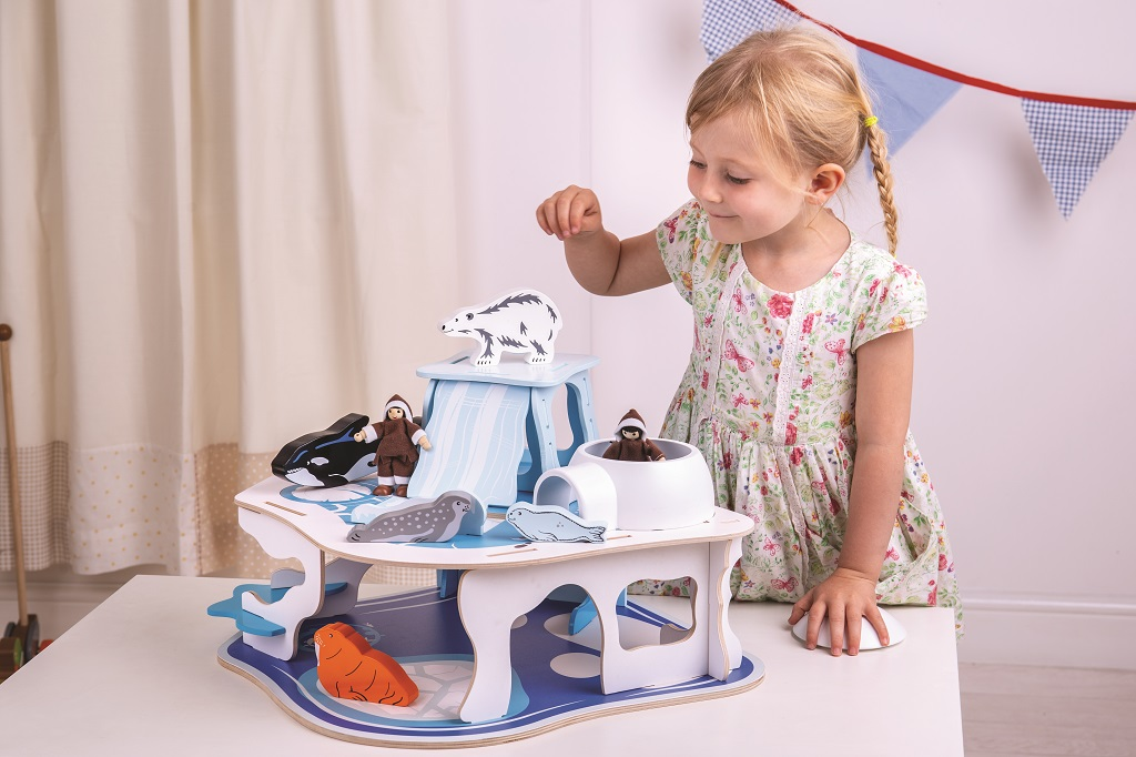 Bigjigs Toys Polární dobrodružství